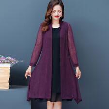 Сетка, кардиган, пальто, длинная прозрачная куртка болеро палантин накидка, блуза, топы, простые тонкие леди