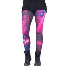 cosey  –  bequeme bunte Leggings / Leggins (Einheitsgröße)  –  im Galaxy Design