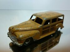 DINKY TOYS 344 ESTATE CAR - WOODY - TWO TONE BROWN 1:43 - GOOD CONDITION