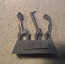 Paquete de actualización Gundabad Orcos Forge World espadas del armazón para el hobbit & LOTR