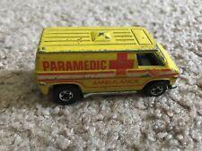 Hot Wheels Paramedic Ambulance - 1974 - Mantel - Great COnditoin