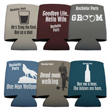 Set of 6 Bachelor Themed Koozies (6 Different Designs)
