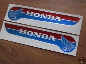 Honda PC50 - moped gas tank decals 1971 and up