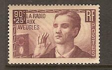 FRANCE # B79 Mint RADIOS FOR THE BLIND