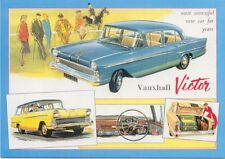 Vauxhall Victor F Type Large Format MODERN postcard by Jenna