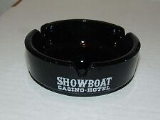 Vintage Showboat Casino Hotel Ashtray Las Vegas Nevada - SMOOTH Base Variation