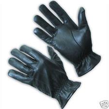 Blackhawk Motorcycle Gloves - Black Leather - X-Large  Free Domestic Shipping