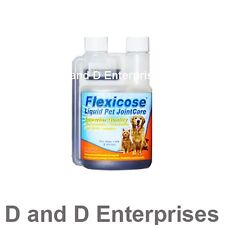 FLEXICOSE LIQUID GLUCOSAMINE FOR DOGS ARTHRITIS PAIN. RELIEVES JOINT PAIN FAST!!