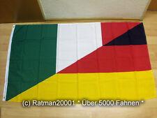 Fahnen Flagge Italien Deutsche Freundschaft - 90 x 150 cm