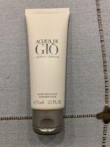 ARMANI Acqua di Gio Homme After Shave Balm Balsam 75ml Rasur Pflege Creme NEU