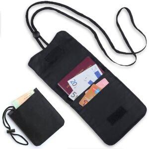 Brustbeutel Brustsafe Umhängetasche Tasche Beutel 3 Fächer Travelsafe Reise Safe