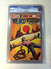 WEIRD WESTERN TALES #14 CGC 9.6 TOP GRADED early JONAH HEX, ALEX TOTH, 1972