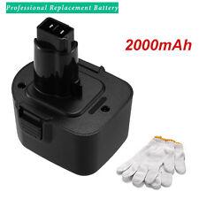 12V 2000mAh Battery for Black & Decker PS130 Firestorm 12Volt PS130A A9252 A9275