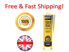 GENUINE!!! UPOL TIGER SEAL BLACK ADHESIVE SEALANT GLUE -> LIMITED SPECIAL OFFER!