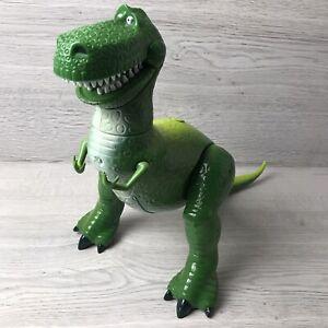 Disney Store Toy Story Talking Rex Dinosaur Large Interactive Figure Kids Toy