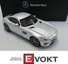 Mercedes C190 AMG GT S iridium silver model car Norev 1:18