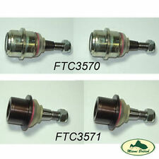 LAND ROVER UPPER & LOWER BALL JOINT SET x4 DISCO II RR P38 FTC3570 FTC3571 LEMF