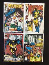 4 Issue Lot - Wolverine 62, 65, 67, 68 X-Men