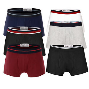 Mens Boxer personal 3 in 1 pack Underwear S to XL Stretch Boxer Classic Boxer UK