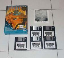 Gioco Pc DOOM II 2 in BOX - ID Prima edizione 1994 OTTIMO Floppy disk ITALIANO