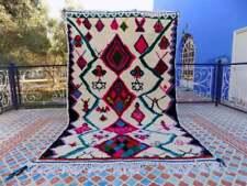 Amazing azilal moroccan azilal vintage vintage area wool rug Handknatted Azilal