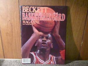 Beckett Basketball Card Magazine Issue #1 Michael Jordan