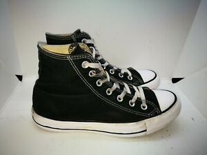 Converse black casual trainers size 6