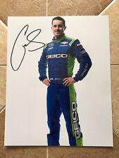 Casey Mears Signed 8x10 Daytona Profile Photo NASCAR autograph COA