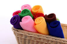Wholesale Towels 10Pcs Microfiber Hand Face Car Cloth House Cleaning Towels