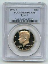1979 S 50C Kennedy Half Dollar Proof PCGS PR69DCAM