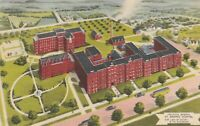(X)  Omaha, NE - Bird's Eye View of Creighton Memorial Hospital and Grounds