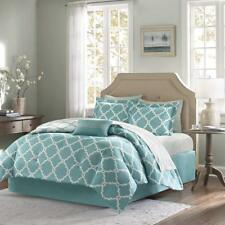 Turquoise 10 Piece Bed In a Bag Luxurious Comforter Set - Sheet Set Included -