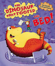 The Dinosaur That Pooped The Bed by Tom Fletcher  (Hardback, 2015)    A5