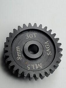 8mm bore Mod 1.5 Steel pinion gear 30t Sagacustomrc