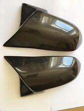 BMW M2 F87 Fibre de Carbone M Performance Wing Mirror Covers OEM-Fit Paire