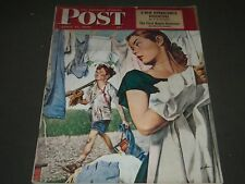 1948 APRIL 17 THE SATURDAY EVENING POST MAGAZINE - ILLUSTRATED COVER - SP 61