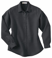 Il Migliore Women's Dobby Polynosic Crossover Style Long Sleeve Shirt. 77005