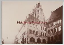 (f12082+) ORIG. foto Norimberga, Café Kusch, prima del 1945, repro