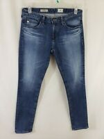 AG Adriano Goldschmied The Stilt Womens Denim Blue Jeans Size 29 x 31 Skinny Fit