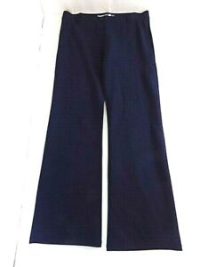 Betabrand Women's Classic Pull-on Dress Yoga Pants Sz XL Navy Bootcut