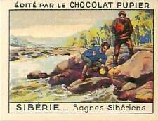 Gold prospector Prospecteur d'or Bagne PRISON SIBERIE SIBERIA RUSSIA  CHROMO 30s
