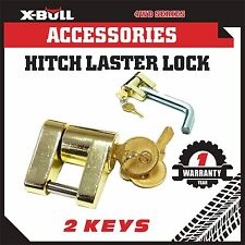 Hitch Laser Lock 2 keys Compact Trailer coupling - Caravan/4x4/Boat Anti-Theft