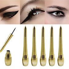 Black Waterproof Double Headed Eyeliner Liquid Eye Liner Pencil Makeup Cosmetic