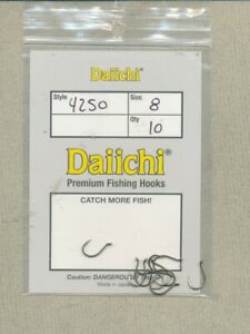 Daiichi 4250 - salmon egg - size 08 - quantity 10