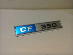 BEDFORD CF 350 VAN CAMPER PICK-UP ICE CREAM AMBULANCE * CF 350 * BADGE ORIG FRAY
