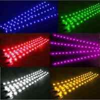 12V 30cm LED Strip Light for Car Caravan Boat SUV Van White Blue Red Green Amber
