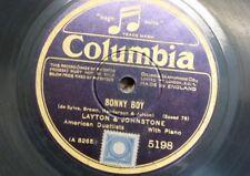 78 tr/min LAYTON & JOHNSTONE Sonny Boy/FOR Old Times 'sake