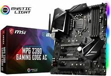 MSI MPG Z390 GAMING EDGE AC Socket LGA1151 Intel Z390 USB3.1 ATX Motherboard