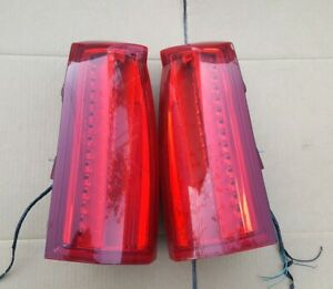 2008 - 2011 CADILLAC STS TAIL LIGHT LAMP TAILLIGHT OEM Pair - TESTED