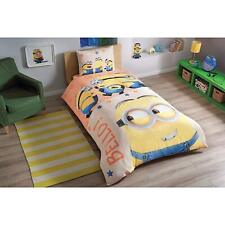 Disney MINIONS Twin Bedding Set Sheet 100% Turkish Cotton. Despicable Me